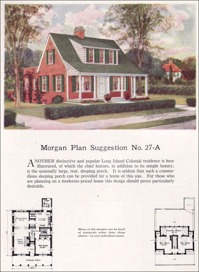 Living Exterior Before And After On 1930s Cape Cod House Plans