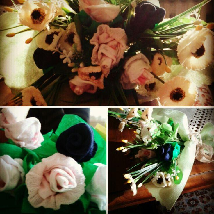 Baby bouquet di calzini