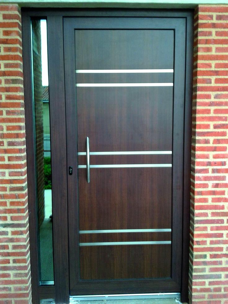 28 best puertas modernas avant images on pinterest for Puertas chalet exterior