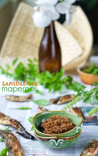 Indonesian Medan Food: Sambal Roa
