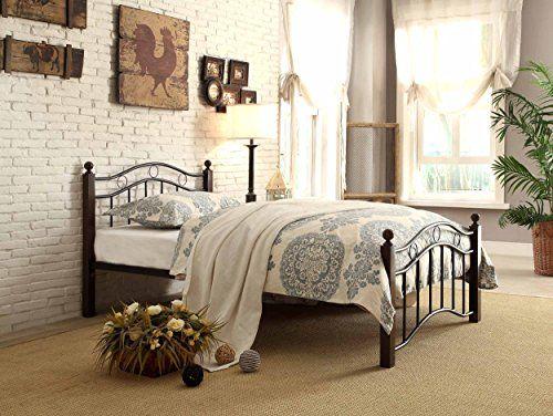 Weston Home Averny Metal Platform Bed