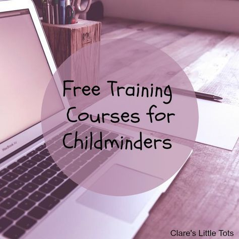 free training courses for childminders
