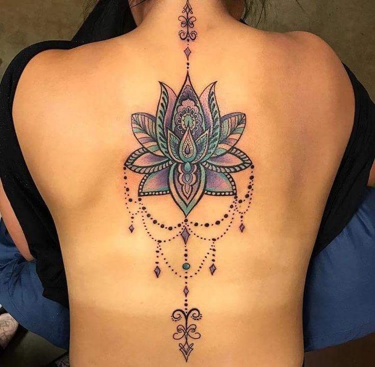 Designs de tatouage créatif Mandala vous tomberiez en amour #designs #creative …