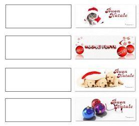 Etichette Per Regali Di Natale Da Stampare.Etichette Chiudipacco Personalizza I Tuoi Regali Di Natale
