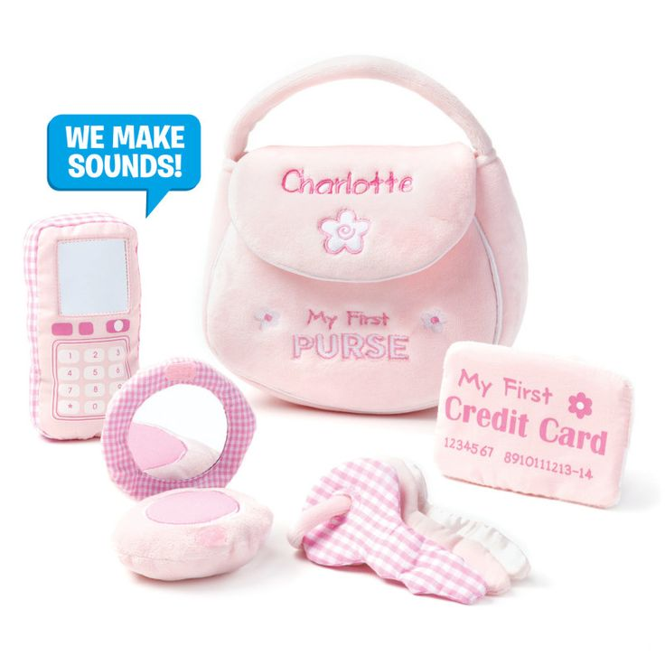 20 best profession gifts images on pinterest birthday gifts personalized gund my first purse playset kids cool toys personalized baby giftsgifts negle Image collections