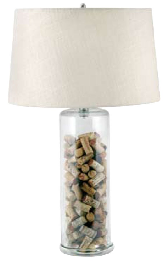 Fill Up Glass Table Lamp