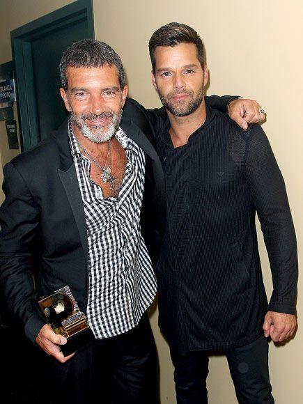 Antonio Banderas e Ricky Martin