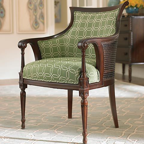Talbot Accent Chair By Bassett....beautiful!