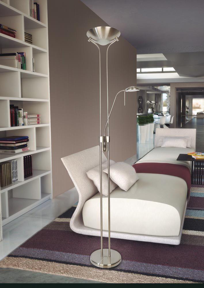 lmparas de pie led de diseo moderno teaser ideas para decorar tu hogar
