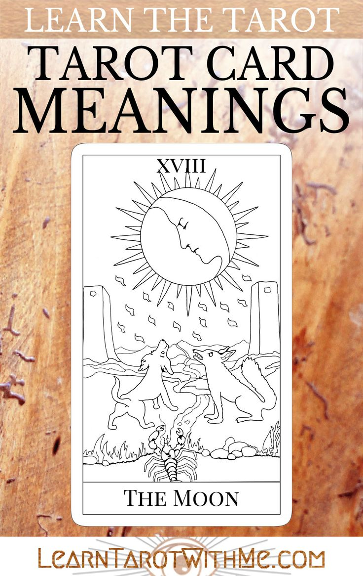 how to learn tarot card meanings