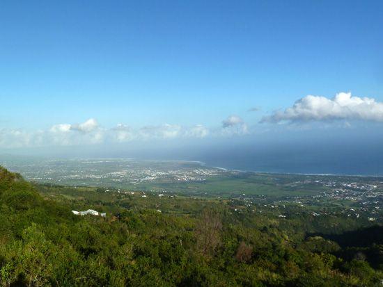 Paysage de L'Etang-Salé, Destination Sud Réunion