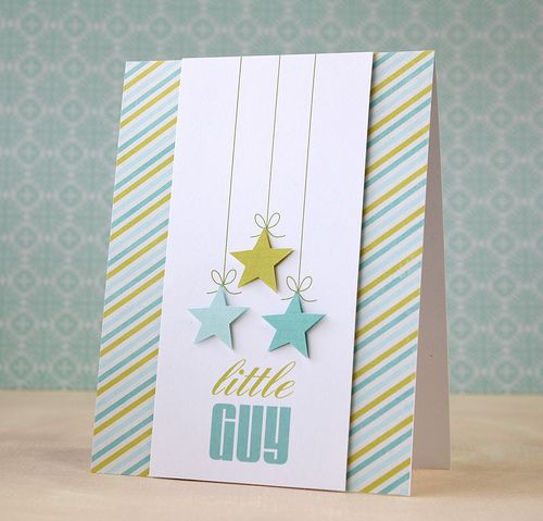 a card layout to love from @Laura Jayson Jayson : tall center panel with diagonal stripes