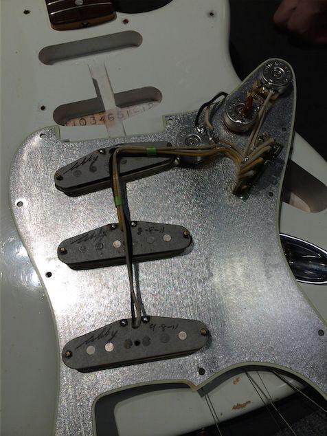 #Fender #69' Abigail Ybarra hand wound Reissue relic