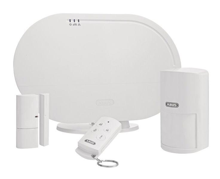 Kit de base Système d'alarme sans fil et application Smartvest ABUS FUAA35000A pas cher prix Alarme maison ManoMano 349.00 €