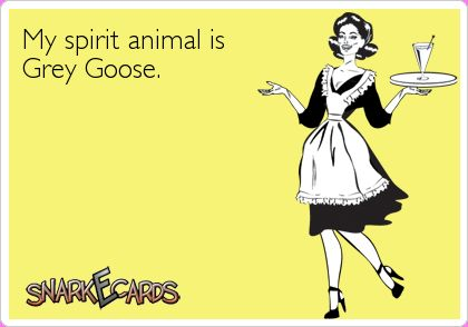 LOL Ecard humor at it's finest. #vodka #animals #Ecard #drinking #alcohol #humor