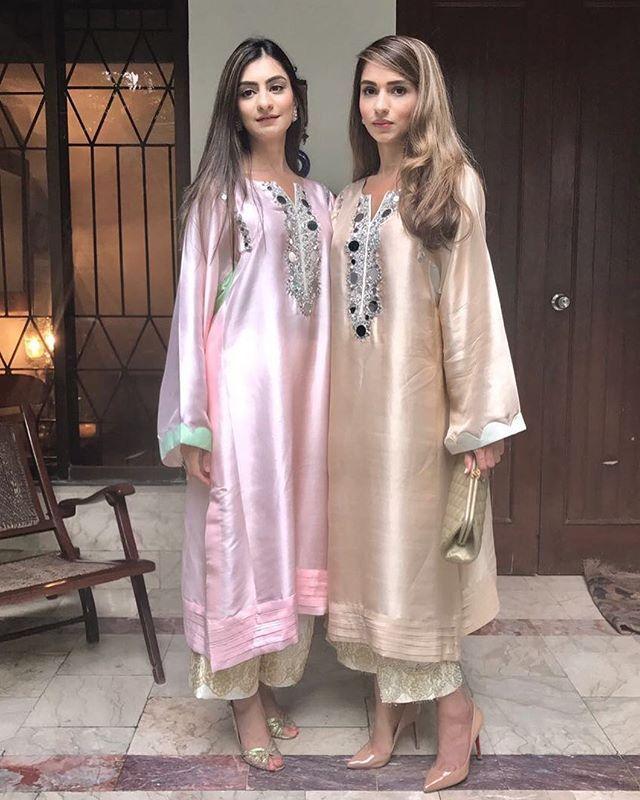 #FizzaSaleem and #ZehraSaleem on #Eid ✨ @fizza_saleem #thepakistanibride