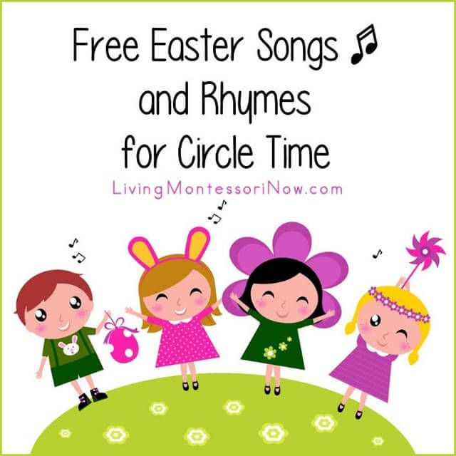 LOTS of free Easter YouTube videos and song lyrics (many with actions) for classroom or home. List includes both classic and new Easter songs and both Christian and secular songs.