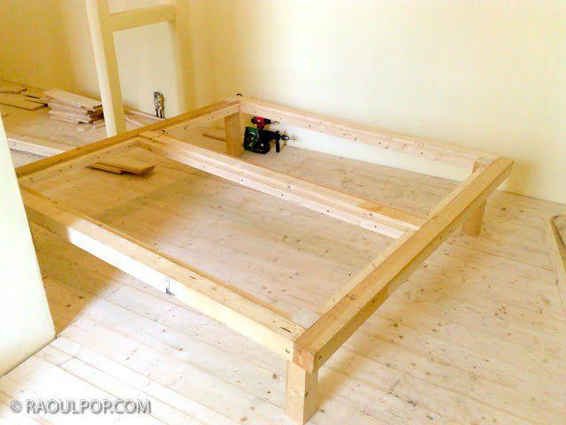 best 20 king size bed frame ideas on pinterest king bed frame king size frame and diy king. Black Bedroom Furniture Sets. Home Design Ideas