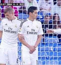 James Rodrigues, Cristiano Ronaldo and Tony Kross