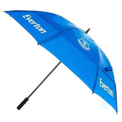 Everton Double Canopy Golf Umbrella: Everton Double Canopy Golf Umbrella Double canopy Wind resistant… #EvertonStore #EvertonShop #EvertonFC