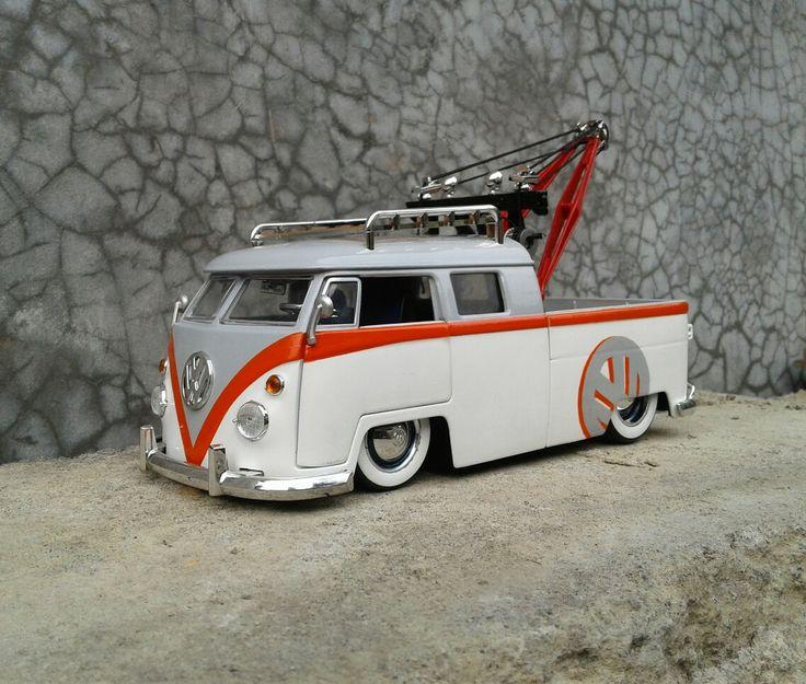 VW T1 pickup Towing
