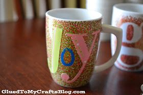 DIY Painted Mugs - That Won't Wash Away {Craft} Just take the sticker off and poofs! A purrfect mug with a monogram!