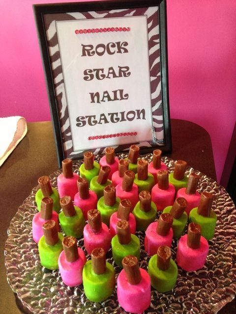 "Photo 3 of 23: RockStar / Birthday ""Kyla's 9th Rockstar Party""   Catch My Party"