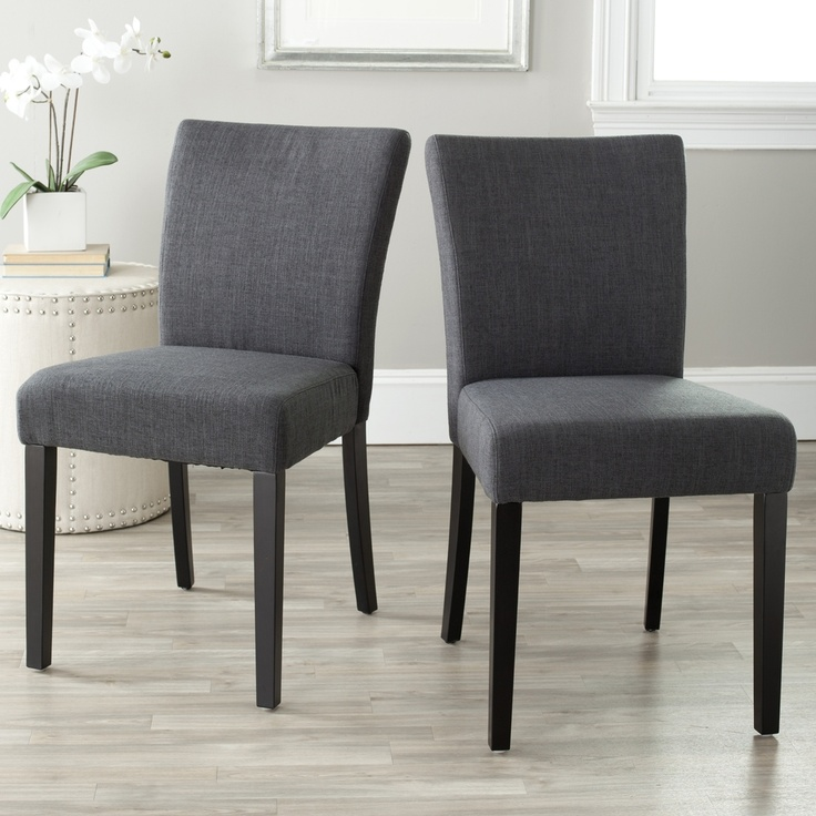 safavieh camille grey dining chairs set of 2 332