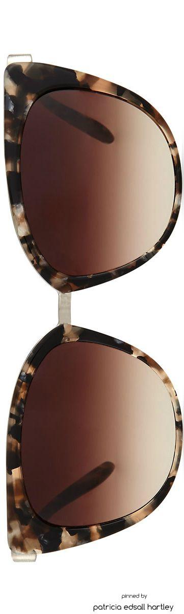 Barton Perreira Ronette Cat-Eye Sunglasses, Orion Marble