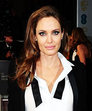 Angelina Jolie's 10 Best Red Carpet Looks Ever - Saint Laurent Paris, 2014 from #InStyle