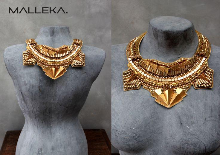 beautiful Brass jewellery  , By 'Malleka' Find us on www.facebook.com/mallekastudio