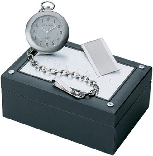 Colibri Pocket Watch  Money Clip SatinTitanium PWQ096807S ** You can find out more details at the link of the image.
