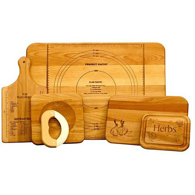 <li>Every kitchen needs a Unlitame Chef's cutting board set<li>Cooking accessory features five different cutting boards<li>Add a new dimension to your dining experience using this versatile cutting board set