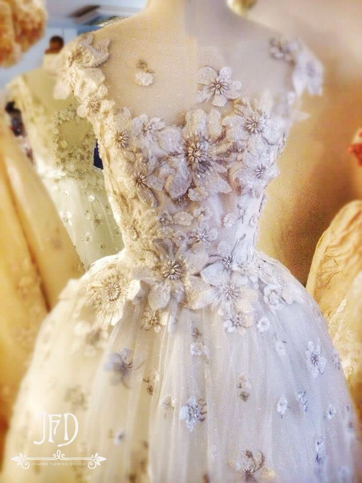 Fairytale wedding dress by Joanne Fleming Design
