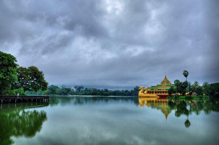 Kendawgyi Lake, Yangon. Taken using Nikon D90.