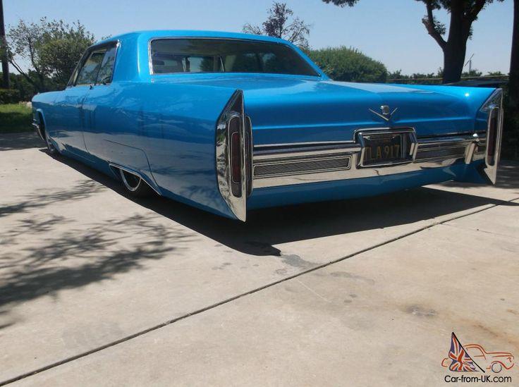 1966 Cadillac Coupe Deville Custom Airride Ratrod Hotrod Streetrod Show Cruiser
