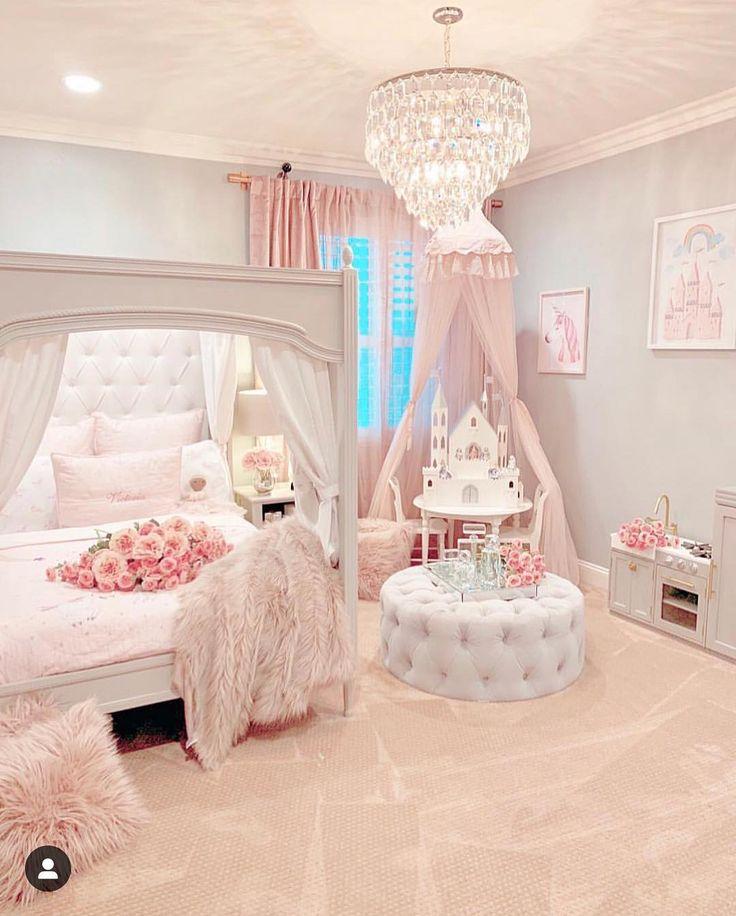 """Sddecor auf Instagram: """"Happy Sunday insta?! Oh, ich wünschte, meine Tochter wäre wieder ein kleines Mädchen. Dieses Schlafzimmer ist für ein fit geeignet. Absolut atemberaubend …"""