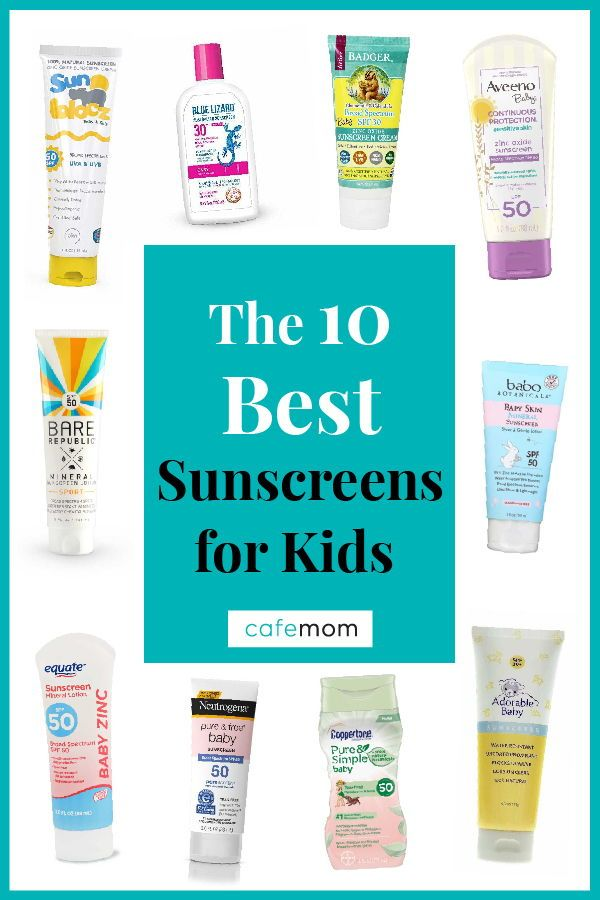 These Are The Ewg S 10 Best Sunscreens For Kids This Year Best Sunscreens Sunscreen Mom Gear