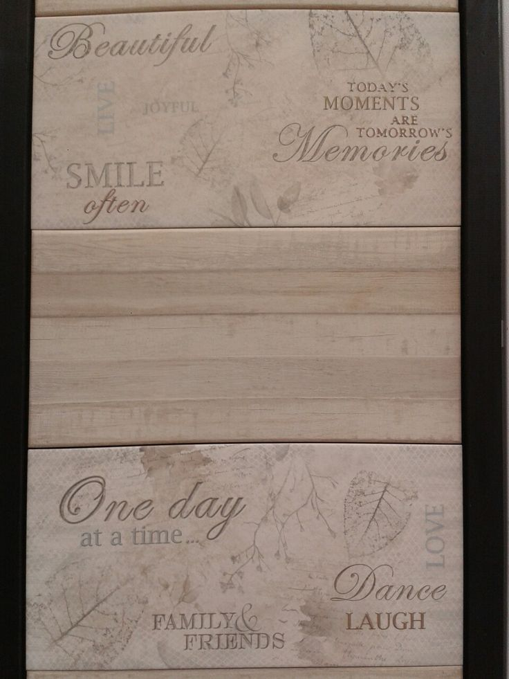 Wood blend and words... love it ctm