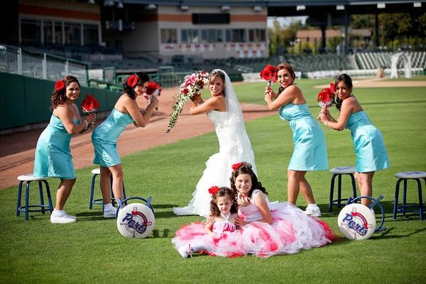 Baseball wedding :)