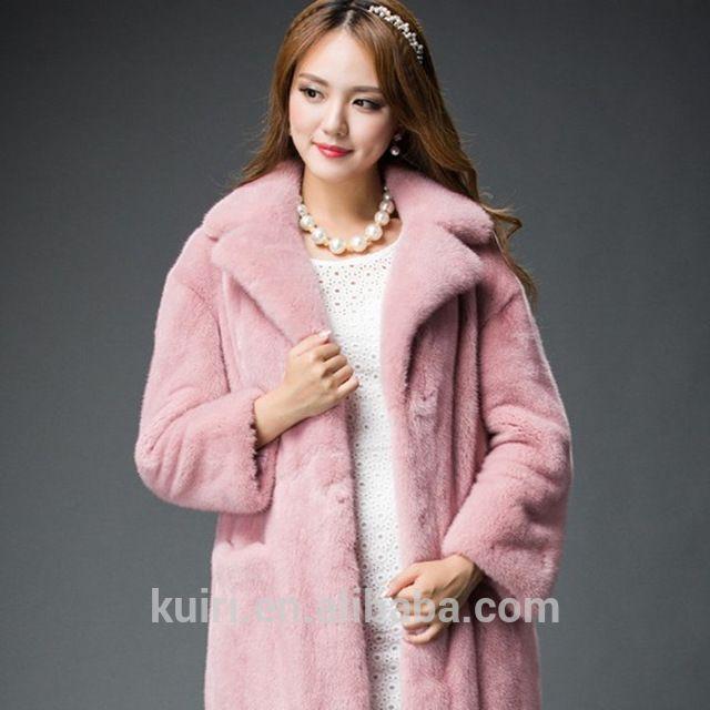 Source Long Women's Fur Coat Winter FAUX FUR Outerwear With Fox Collar FAUX FUR Overcoat 2016 Lady Fashion colete on m.alibaba.com