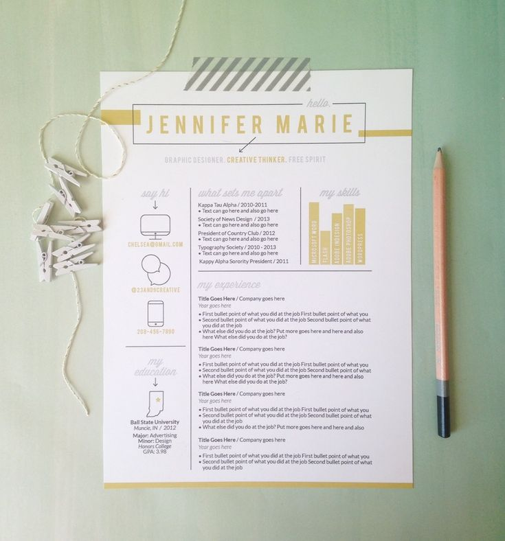 19 best Resume images on Pinterest - bullet point resume