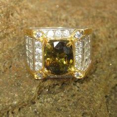 Cincin Pria Tourmaline Ring 8US
