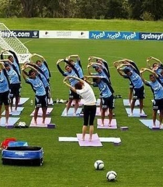 The Key To Staying Forever Young In Soccer Is Yoga Soccer Training Soccer Drills For Kids Soccer