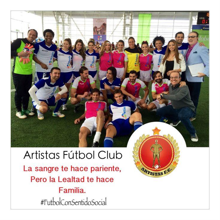 Artistas Fútbol Club #FútbolConSentidoSocial