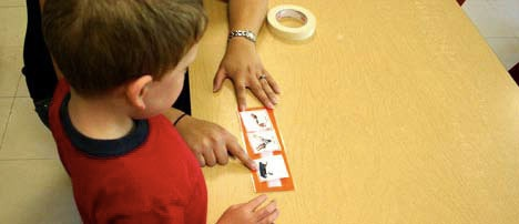 library of free pictures to use with children with learning differences.