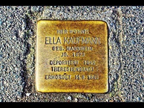 Ella Kaufmann • Johannisvorstadt 24 • Stolpersteine in Osterode am Harz ...