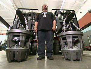 "MTX 22"" Jackhammer subwoofers"