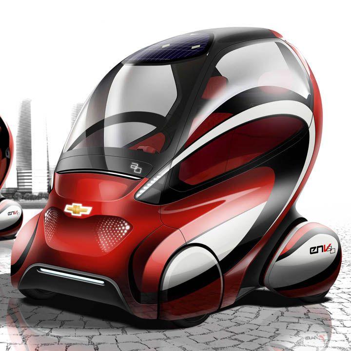 25 best chevrolet concept vehicles images on pinterest for General motors electric car