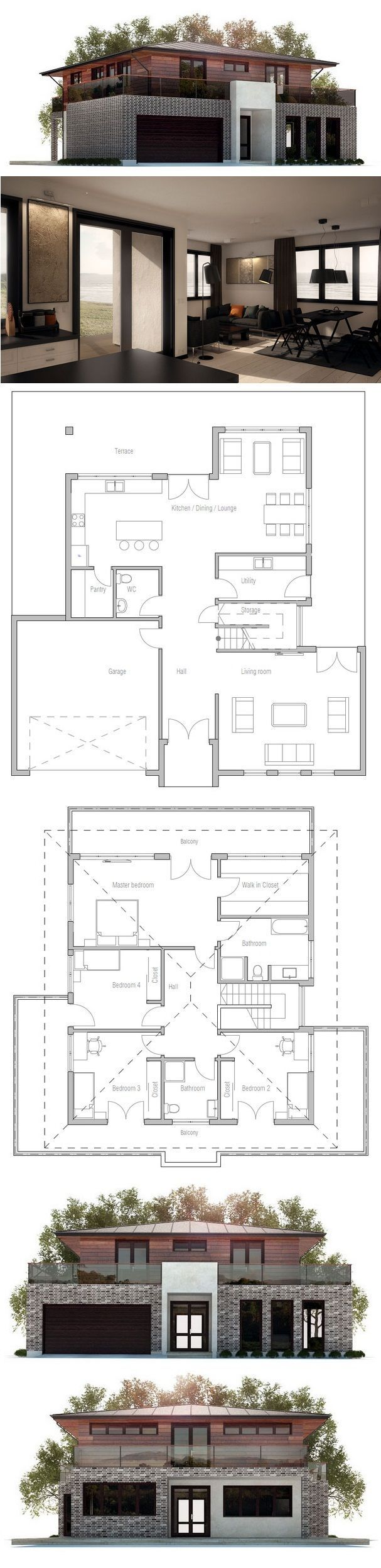 Best 25 Beautiful House Plans Ideas On Pinterest House